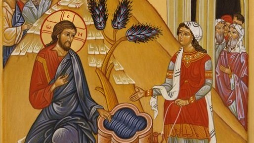Jesus and the Samaritan woman (2)